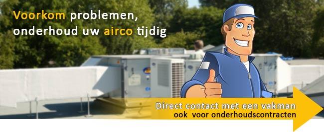 Airco onderhoud voorkom problemen